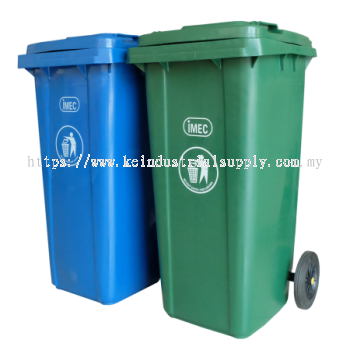 IMEC GMT Two Wheel Mobile Dustbin / Rubbish Bin