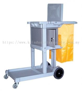 IMEC JT2000 Janitor Cart c/w Bag