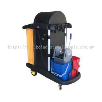IMEC JT Compact 11 Fully Enclosed Janitor Trolley