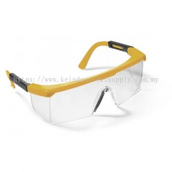 Yellow Frame/ Hard Coated Clear Lens