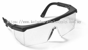 Black frame/ Hard Coated Clear Lens