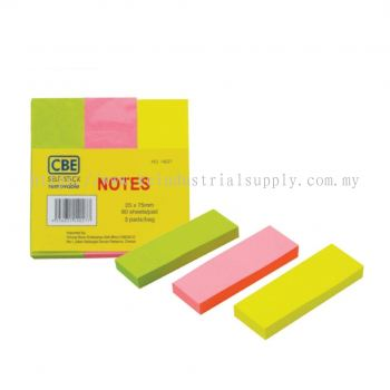 NEON COLOUR NOTES (PAPER / 3'S)