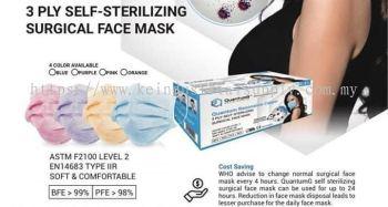Ready Stock Medical 3-ply Face Mask 50pcs/box free sanitizer