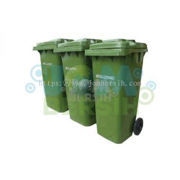 2 Wheel Waste Bin - Mobile Garbage Bin (Evolution) 240 liter