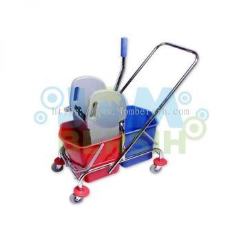 CLS Double Wringer Bucket (Metal Trolley)