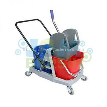 CLS Double Wringer Bucket (Plastic Trolley)
