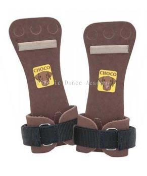 Men's Choco Velcro Hi Bar Dowel Grips FREE SHIPPING