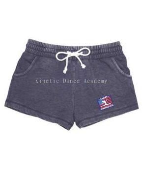 USA Gymnastics Navy Rally Fleece Shorts