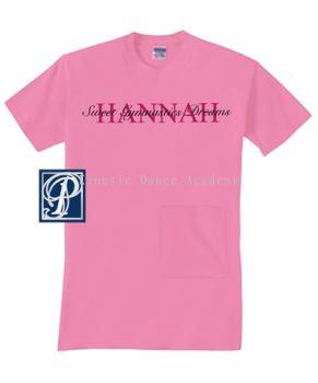 Personalized Youth Sweet Gymnastics Dreams Night Shirt