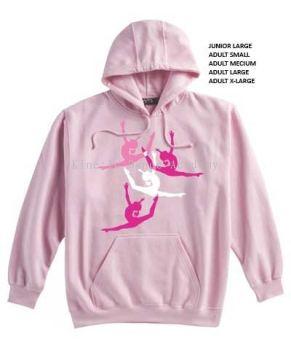 Pink Split Leap Hoody FREE SHIPPING