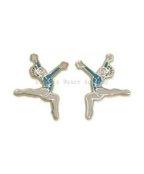 Floor Ex Stag Leap Pierced Earrings