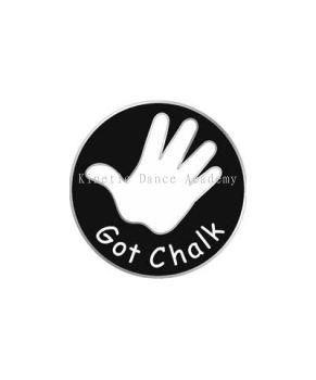 Snap Button Charm - Got Chalk