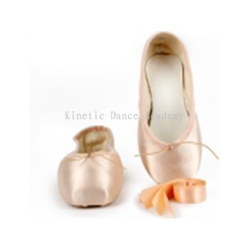 1207S - Demi Pointe Shoe With Ribbon