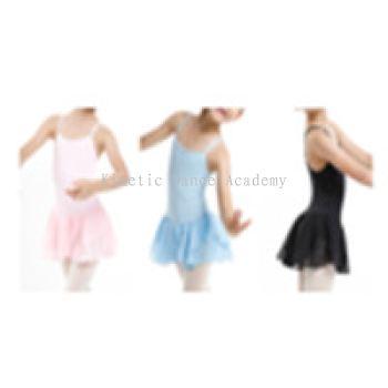 3624 - 儿童吊带裙款连身衣