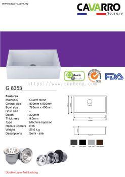 Semi Water Sink (G8353)