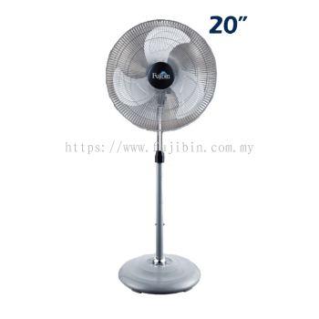 Standing Fan Silver Body (Aluminium 3 Blade) FBS-20