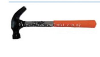 VSAFEMKT JACKETED STEEL HANDLE CLAW HAMMER L325 (551-06-016)