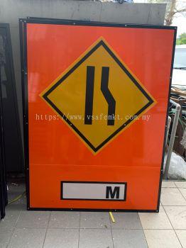 VSAFEMKT JKR TEMPORARY TRAFFIC ROAD SIGN