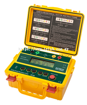 GRT300: 4-Wire Earth Ground Resistance Tester