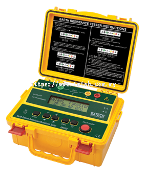 GRT350: 4-Wire Earth Ground Resistance/Resistivity Tester