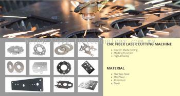 CNC Fiber Laser Cutting Machine Service