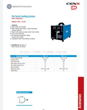CENX WIN TIG TORCH COOLING SYSTEM
