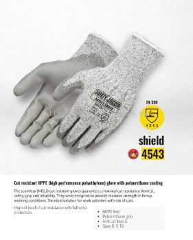 9 SAFETY JOGGER SAFET GLOVE- SHIELD