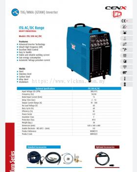 CENX WIN TIG INVERTER MACHINE ITG300 AC/DC