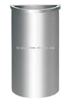 Stainless Steel Semi Round Bin c/w Open Top SRB-044/OT