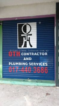 Roller Shutter Paint OTH Contractor