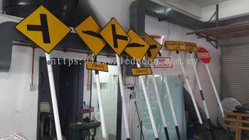 Road sign JKR