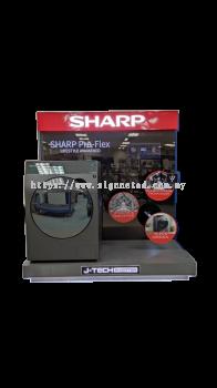 Sharp Washing Machine Display
