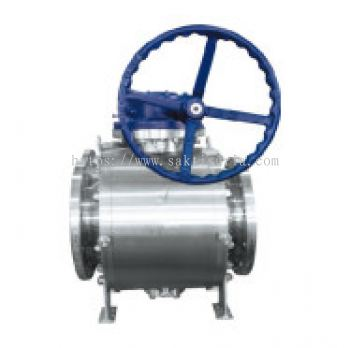6.Trunnion Ball Valve