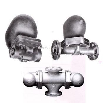 [JTR-FT12, FF12] Jokwang Ball Float Trap (Mechanical Type)