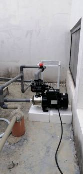install water pump