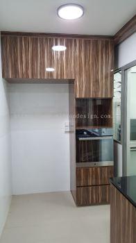 Custom-made Carpentry Work 家私定制与设计 - kitchen cabinet