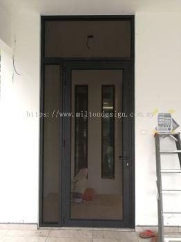 security (Anti-mosquito)wire-mesh door