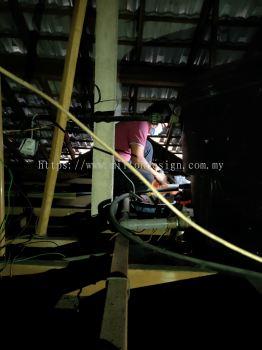 Plumbing Work ˮ�ܹ��� - install water pump