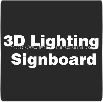 3D Lighting Signboard