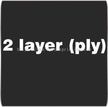 2 Layer (ply)