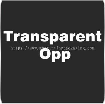 Transparent Opp