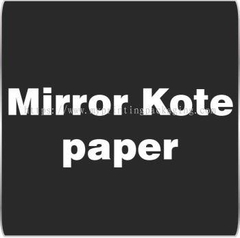 Mirror Kote Paper