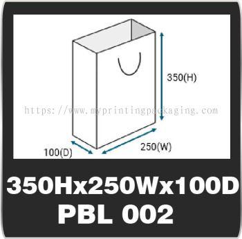 PBL 002 (350H x 250W x 100D)