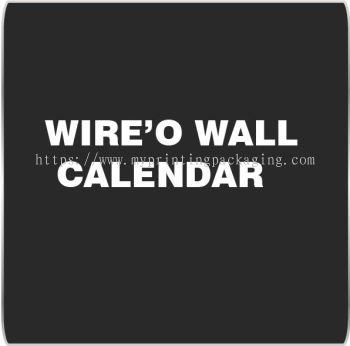 Wire'O Wall Calendar