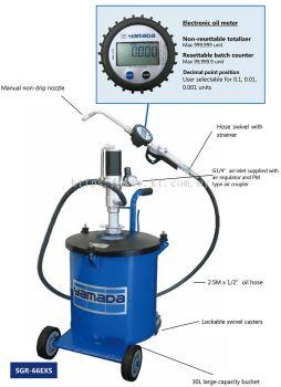 Air Operated Oil Bucket Pump (SGR-66EXS)