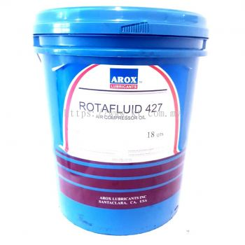 Arox Lubricants Rotafluid 427 Air Compressor Oil 18 Litre