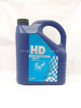 Arox Lubricants HD Automotive Engine Oil SAE 40 4 Litre