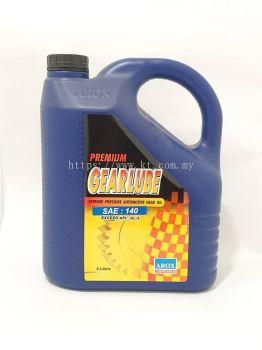 Arox Lubricants Premium Gearlube SAE 140 4 Litre