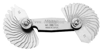 MITUTOYO �C Radius Gages (186)