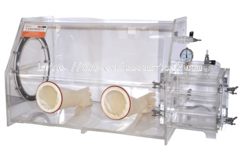 VGB-2D Series - Acrylic Glove Box with HEPA Filter System